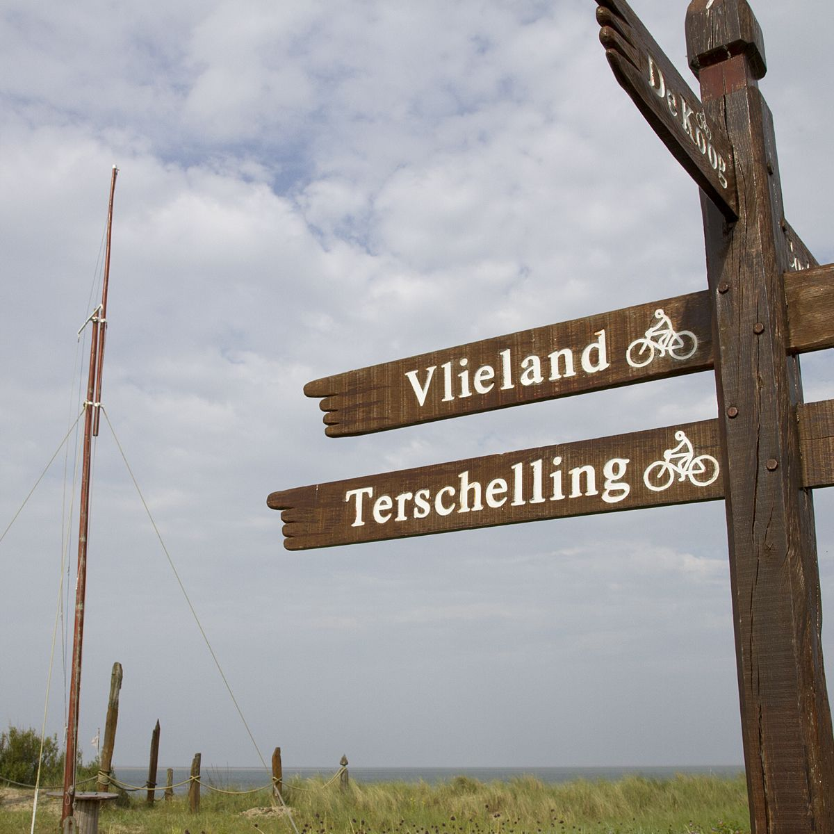 Island hopping between Texel and Vlieland